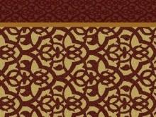 Koridor ve Bordürlü Halılar BORDO KAHVE | Duvardan Duvara Halı | Dinarsu