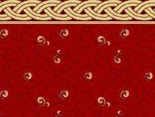 Koridor ve Bordürlü Halılar KIRMIZI | Duvardan Duvara Halı | Dinarsu